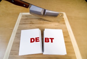 debt chopping block