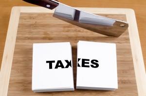 chopping block taxes